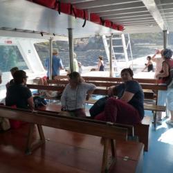 Le Cinque Terre nel barca